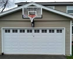 wall mount basketball hoop mounted goal india over garage s32