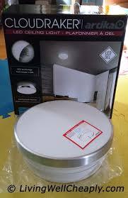 artika cloudraker led ceiling light box content