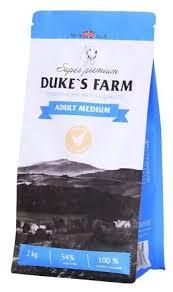 Корм для собак <b>DUKE'S</b> FARM курица (для средних пород ...