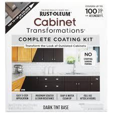 rust oleum transformations dark color cabinet kit 9 piece