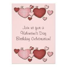 valentines party invitations valentines day birthday invitations announcements zazzle