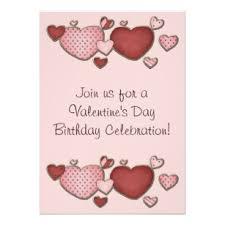 valentines party invitations valentines day birthday invitations announcements zazzle