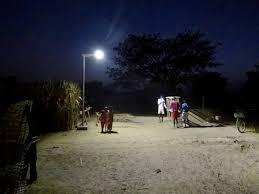 Street Lights In Villages Solar Lighting In Rural Senegal Sunna Design