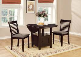 round dining room sets with leaf for top stockton warm grey drop leaf round dining room