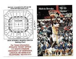 Devaney Center Seating Chart 1994 Denise Mcmillian Nebraska Cornhuskers Husker Softball