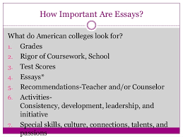 hamilton high school college application essay tips how important are essays