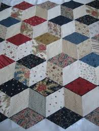 Baby Block Quilt Patterns Interesting 48 Best Tumbling Blocks Quilts Images On Pinterest Tumbling Blocks