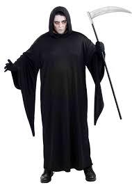 plus size xl grim reaper costume