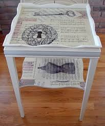 decoupage ideas for furniture. decoupage para tus muebles ideas que inspiran for furniture