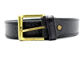 vintage handmade kenyan mens real soft leather belt back size 36 2