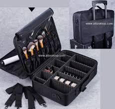 professional makeup artist bag waterproof cosmetic storage beauty vanity case make up travel bag for makeup brushes hair curler