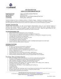 System Administrator Job Description Resume Sample Resume System Administrator Job Sle Description Pravin Uttam 2