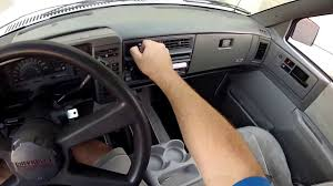 1993 Chevy S10 Blazer 4-door 4x4 interior tour and test drive ...
