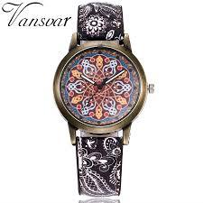 2017 Vansvar Brand <b>New Creative</b> Vintage Women <b>Watches</b> Ladies ...