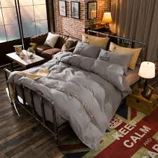 Fashion cotton bedding sets luxury bed sheet set button design ...