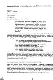 Instructional Designer Resume Compare And Contrast Thesis Sentence Templates Resume 83
