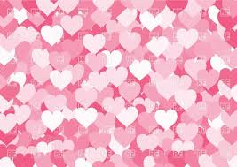 Many Pink Hearts Background Vector Illustration Of Backgrounds