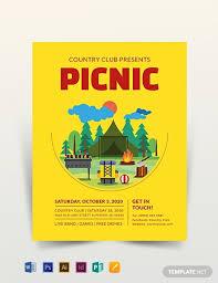 Picnic Flyer Template Word Picnic Flyer Template Download