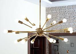 inexpensive modern lighting. Cheap Modern Chandeliers Mid Century Polished Brass Sputnik Chandelier Light Fixture Lights Inexpensive Lighting T