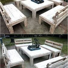 pallet furniture projects. Easy Pallet Bench Wood Furniture Projects Made Wooden Shelves Diy