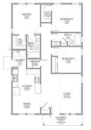 3 Bedroom Open Floor House Plans Ideas Best Inspiration