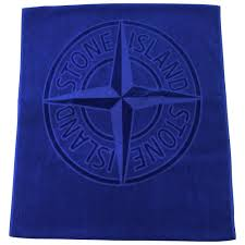 designer beach towels. Stone Island Blue Beach Towel Designer Towels