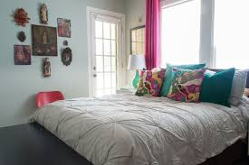 duvet definition with eclectic bedroom