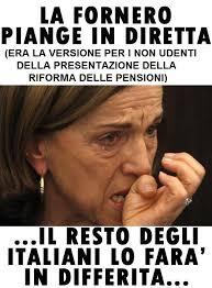 Risultati immagini per fornero pensioni
