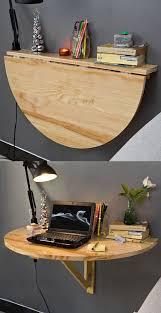 semi circular wall table