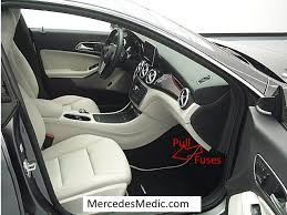 mercedes benz cla fuses location designation map cla pull fuses