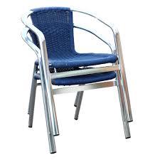 wicker folding chairs. Madrid Blue Wicker Folding Chairs