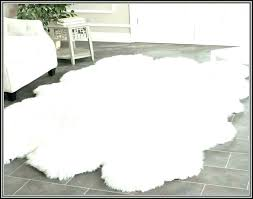 faux fur white rug white faux rug white fur rug best faux fur rug for how