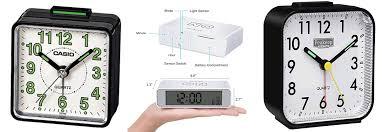 best portable travel alarm clocks under 10