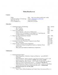 Job Resume Examples For Highschooldents Professional Template High