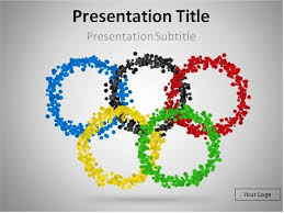 Download Olympic Rings Powerpoint Template