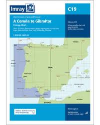 C19 A Coruña To Gibraltar Imray Chart