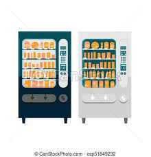 Vending Machine Clip Art Free Extraordinary Flat Vector Vending Machines Set Of Two Different Vector Vending