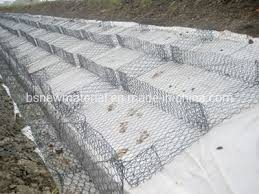 nonwoven geotextile fabric for gabion