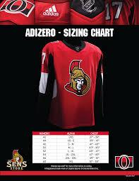 Nhl Jersey Size Chart Adidas Adidas Hockey Jersey Sizing
