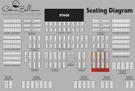 Casino Ballroom Seating Chart Clean Morongo Ballroom Seating Chart 2019