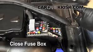 blown fuse check 2007 2016 volvo s80 2010 volvo s80 t6 3 0l 6 cyl 6 replace cover secure the cover and test component