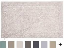 grund certified 100 organic cotton reversible bath mat puro series 17 inch by 24