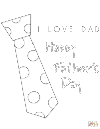 Small Picture I Love Dad coloring page Free Printable Coloring Pages
