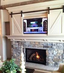 on fireplace mantel wonderful mantels with above brilliant best mantle decorating ideas 8 tv over no inspiring hanging your the yea or nay moldings