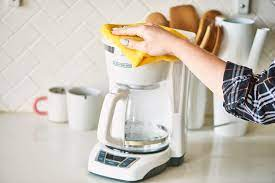 After you clean your coffee pot with vinegar, run 3 cycles with water only, which will flush it out. How To Clean A Coffee Maker Kitchn