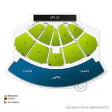 Seating Chart Bankplus Amphitheater At Snowden Grove