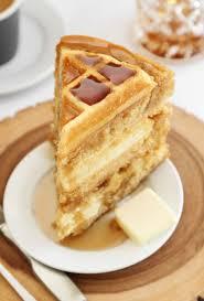 Maple Belgian Waffle Cake In 2019 Unique Cakes Waffle Cake Cake