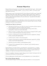 Maintenance Resume Objective Statement Stunning Job Resume Objective Statement Objectives With Customer Service