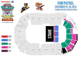 Paw Patrol Live Race To The Rescue Tsongas Center