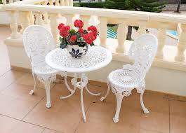 metal patio table white dsc 1423